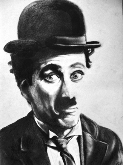 Charlie Chaplin by diedel